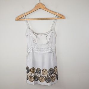 $$$ BCBGMaxAzria | Silk Strappy Tank Top